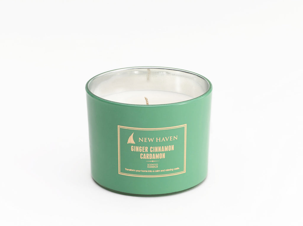 Ginger Cinnamon Cardamon Scented Candle