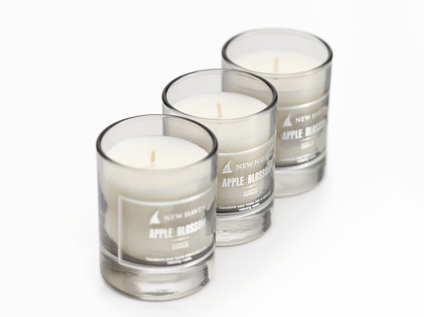 Apple Blossom 3-piece Candle Set
