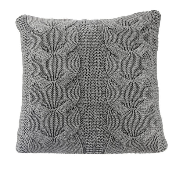 Pure Cotton Knitted Pillow, Made Fast