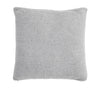 Pure Cotton Knitted Pillow, Charcoal Ripple