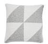 Pure Cotton Knitted Pillow, Charcoal Mainsails