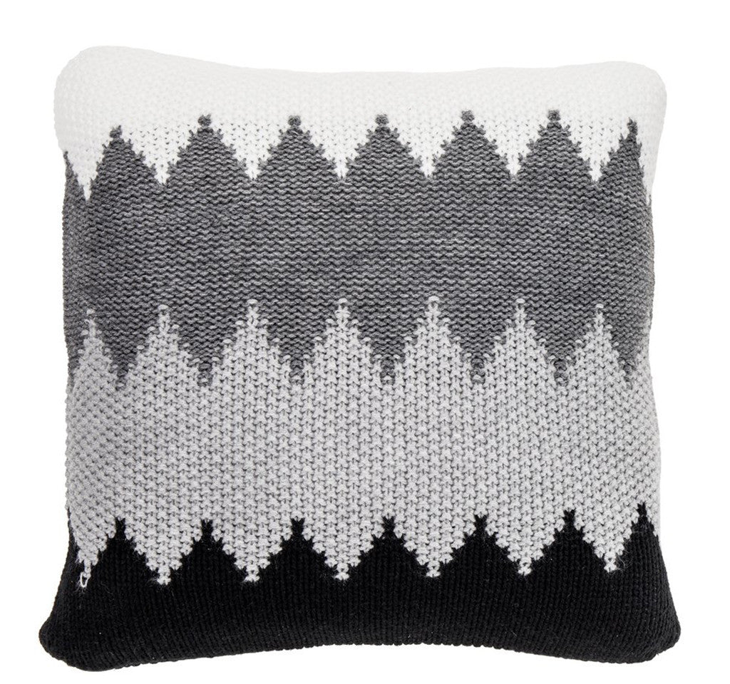 Knitted Pillow, Winter Frost – New Haven Collection