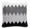 Knitted Pillow, Winter Frost