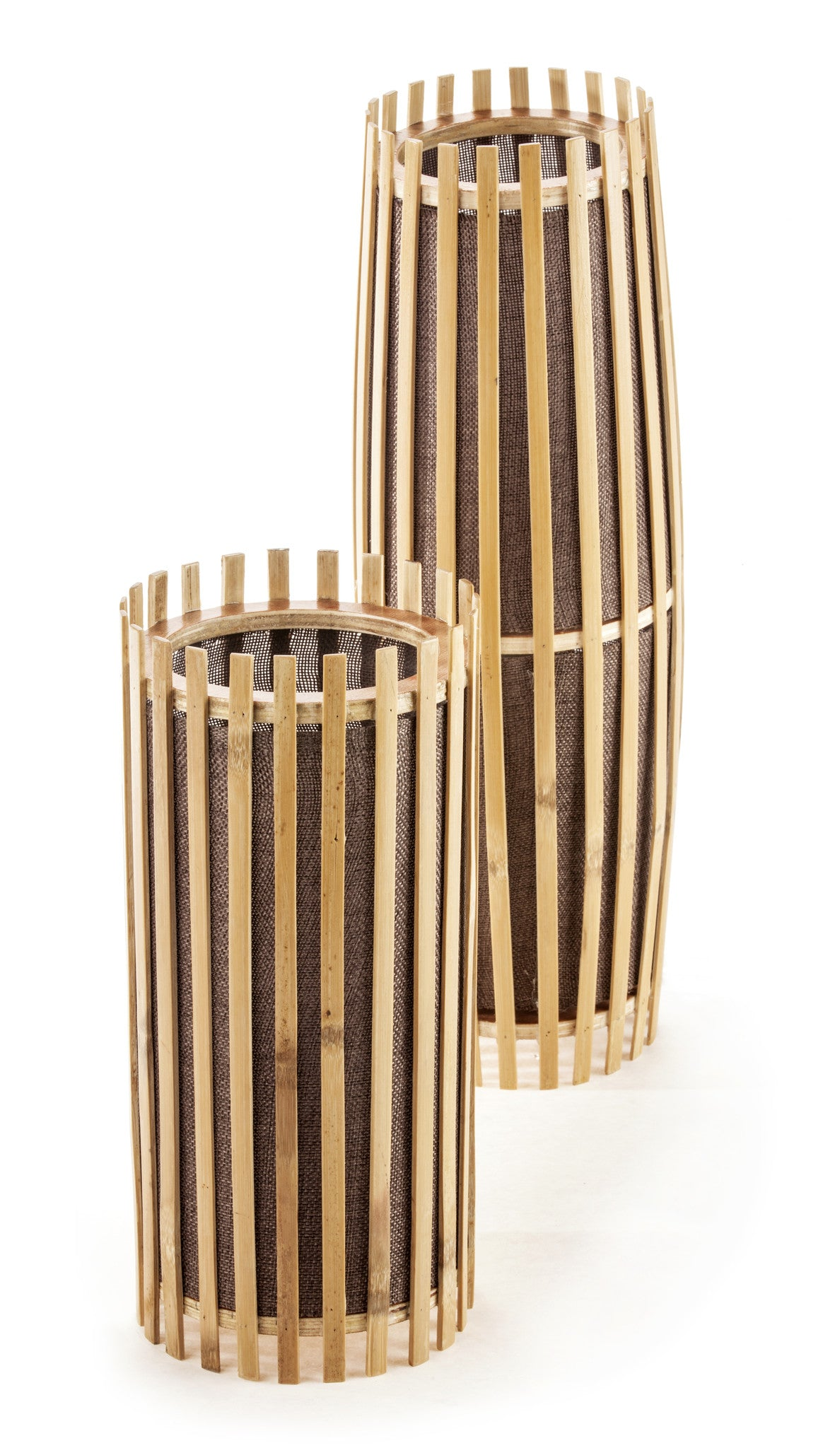 Bamboo table lamp set new haven collection bamboo table lamp set aloadofball Images