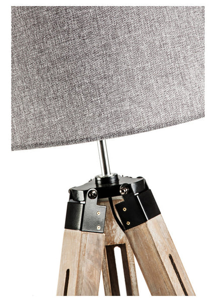 Rustic Floor Tripod Lamp Large New Haven Collection
