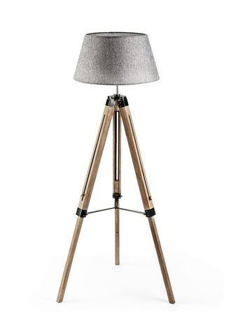 Rustic Floor Tripod lamp - Large