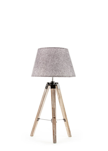 Rustic Floor Tripod Lamp - Small