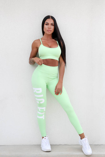 Mint RGFT Activewear Tights