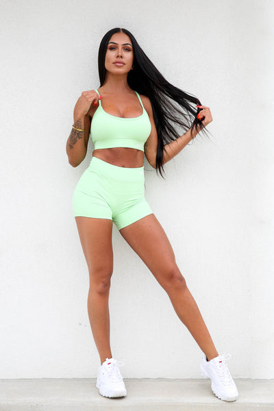 Mint RGFT Booty Shorts