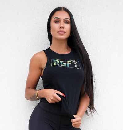 Black/Green Camo RGFT Boxed Tank