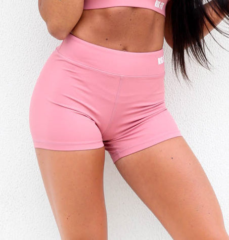 Rose Pink RGFT Booty Shorts