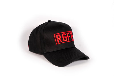Black/Red RGFT A Frame SnapBack - right view