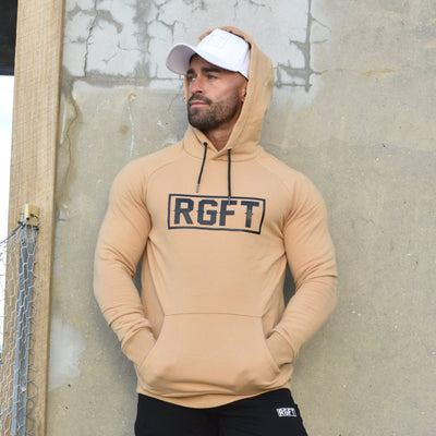 Tan RGFT - Super Stretch - Premium Fleece Hoodie