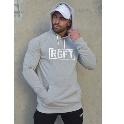 Grey RGFT - Super Stretch - Premium Fleece Hoodie