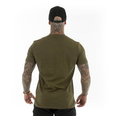 Khaki RGFT Hollow T-Shirt