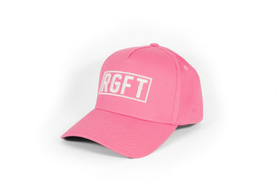 Pink RGFT Boxed A Frame Snapback