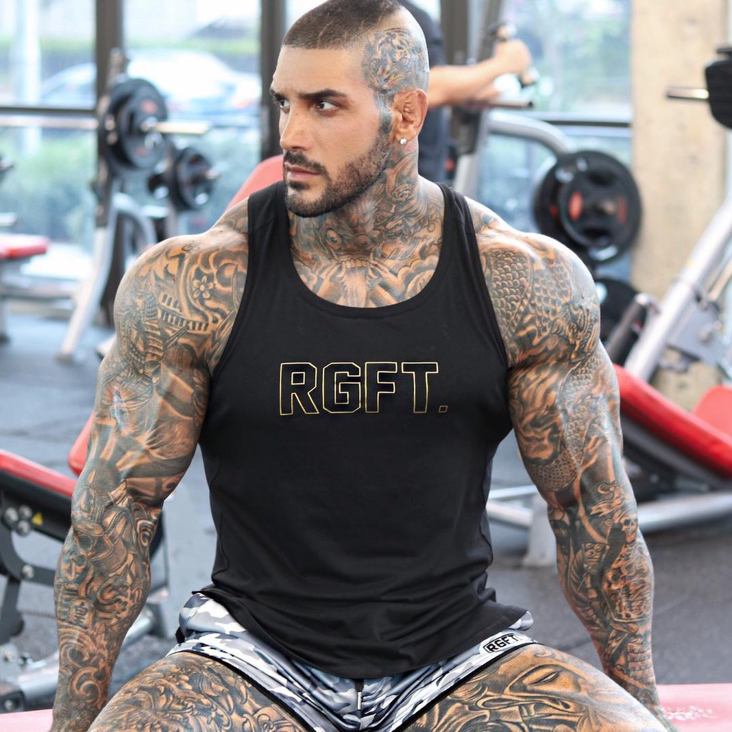 Limited Black and Gold RGFT Muscle Tank