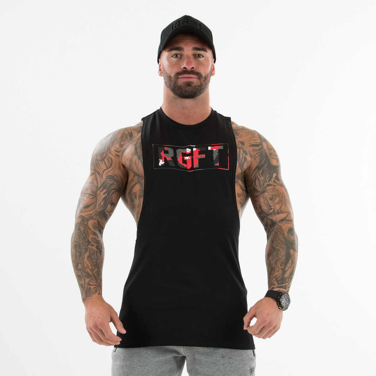 Camo Red/Black RGFT Boxed Tank
