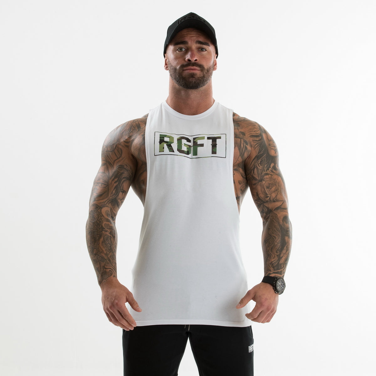 Camo Green/White RGFT Boxed Tank
