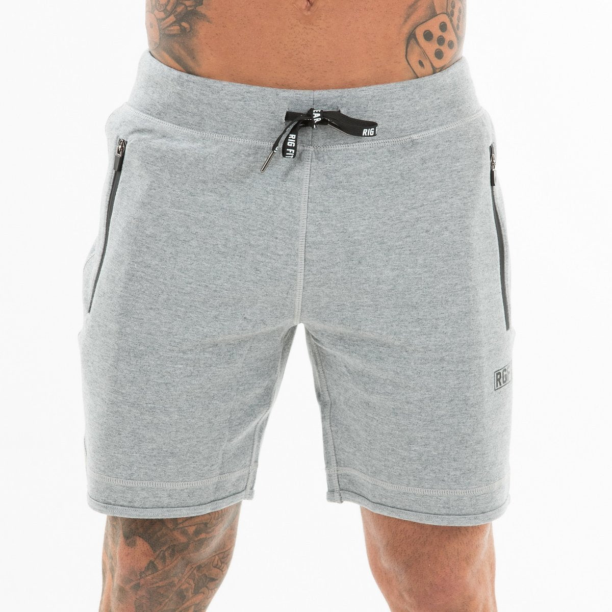 Heather Grey RGFT Fleece Shorts