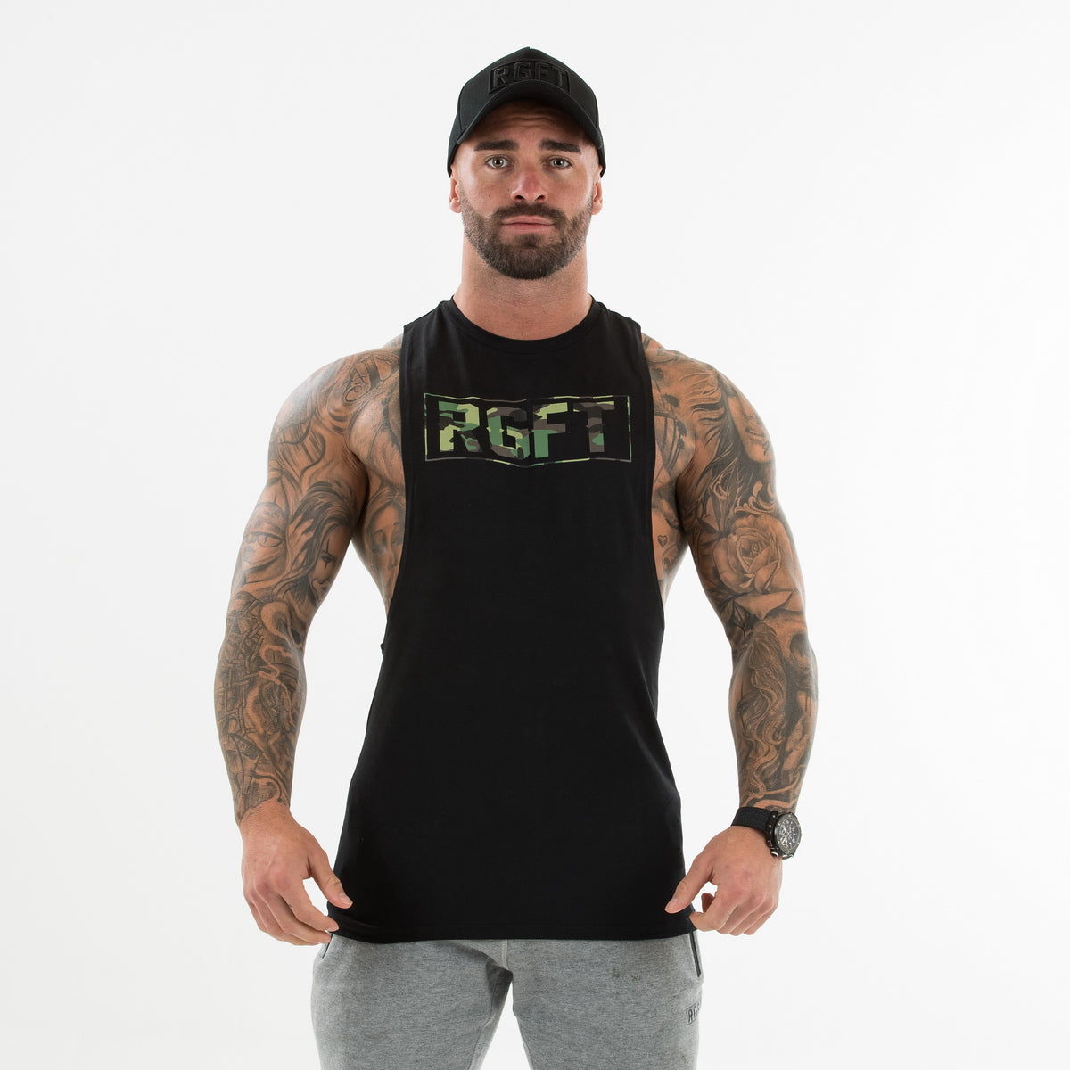 Camo Green/Black RGFT Boxed Tank