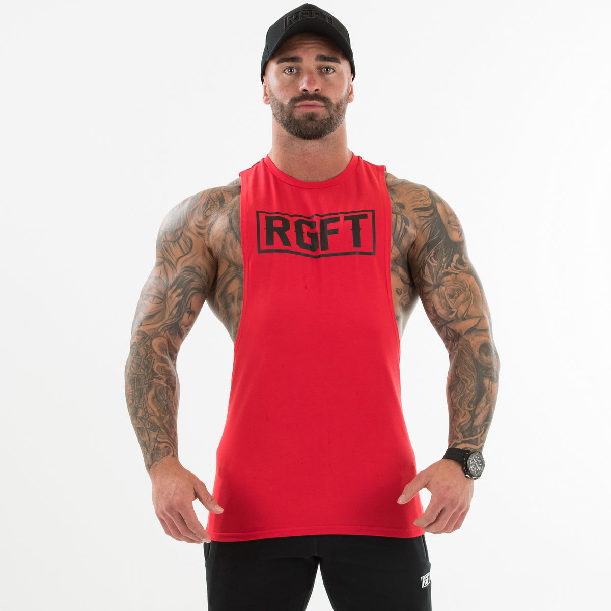 Red RGFT Boxed Tank