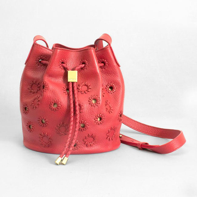 Tassel Crossbody-Red