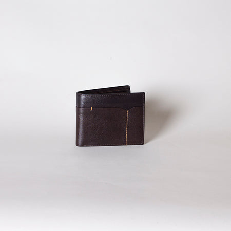 Men's Classic leather wallet, Brown