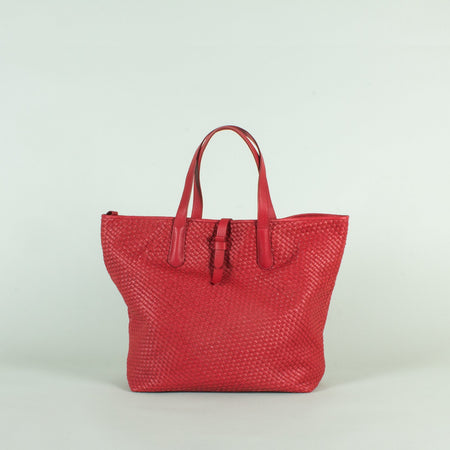Cabas Woven, Red