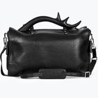 Antler Leather Weekender, Black