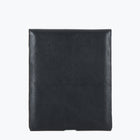 Rockette Leather Ipad sleeve, classic black