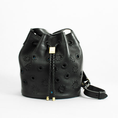 Layla Mini Bucket, Black