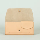 Lara Leather Wallet, Blush
