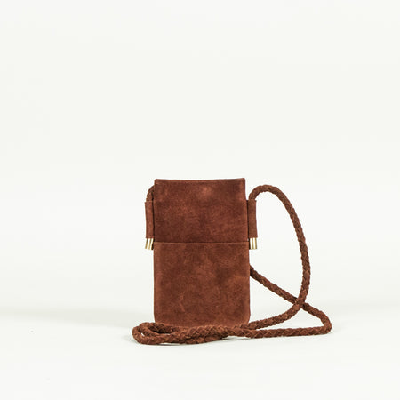 Leather Travel Sling, Tan