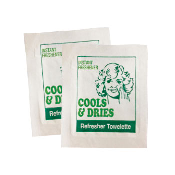 Refresher Towelettes (Cool & Dries) 100 Pack