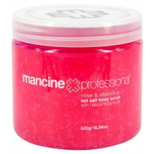 Mancine Body Scrub Rose-Vitamin E 520 gm