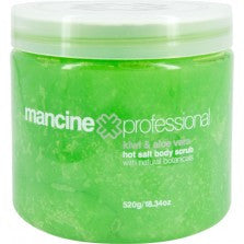 Mancine Body Scrub Kiwi-Aloe 520 gm