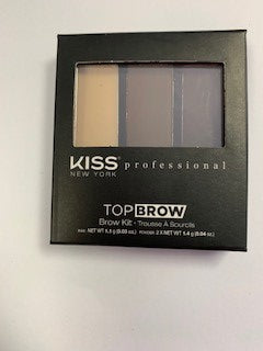 Kiss Brow Powder Kit - Ebony