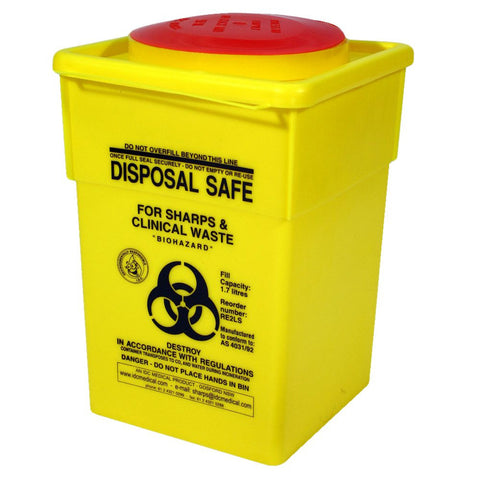 Sharps Containers 2Lt