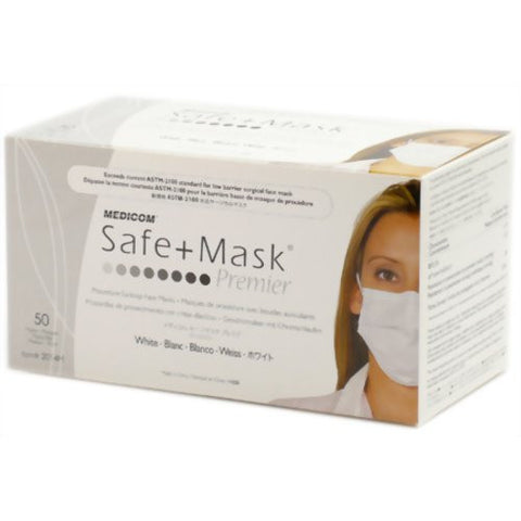 FACE MASKS DISPOSABLE (MEDICOM) 50 PACK