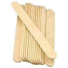 Large Waxing Body Spatula Wooden 100 pack