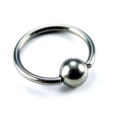 Bcr - 1.2X06X03 Ss316L Ball Closure Ring
