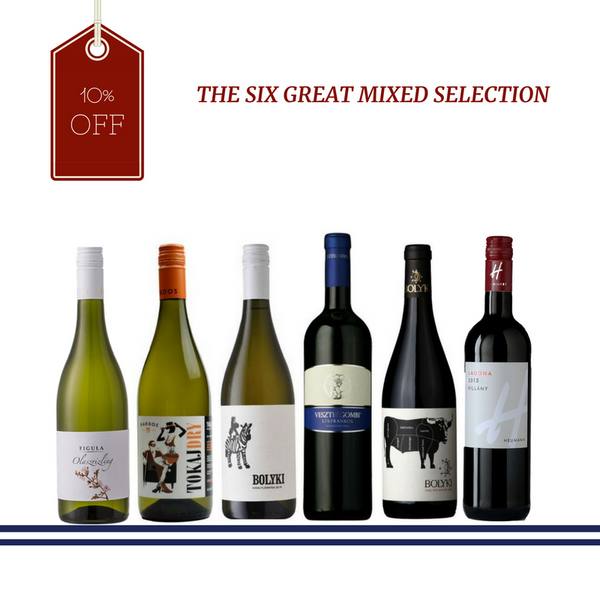 The Six Great Mixed Selection with 10 % off