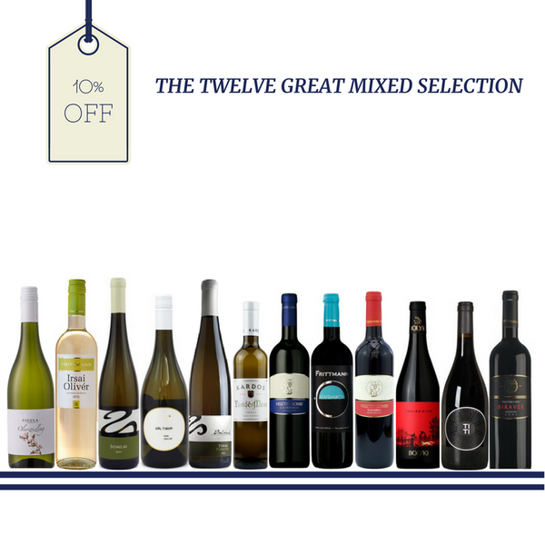 Hungarian wine Mixed case Selection