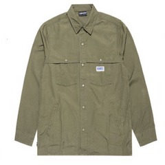THE HUNDREDS ROY BUTTON-UP WOVEN SHIRT