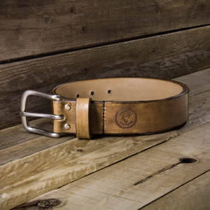 Introducing our hand dyed leather belts