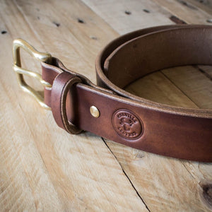 Introducing the Oak Bark Tanned Leather Belt