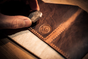 Behind the scenes of a leathercraft business