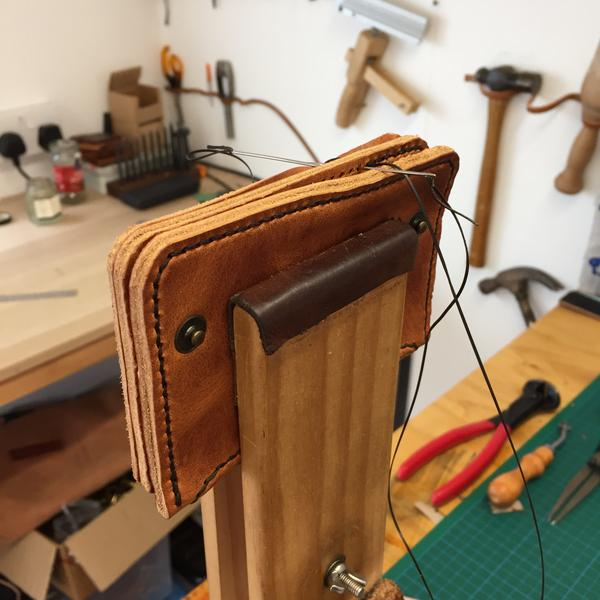The art of hand stitched leather goods