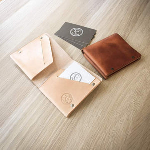 Colville Leather's bi-fold wallet collection
